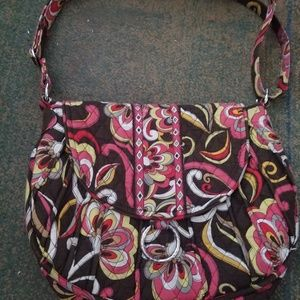 Vera Bradley puccini saddle crossbody bag